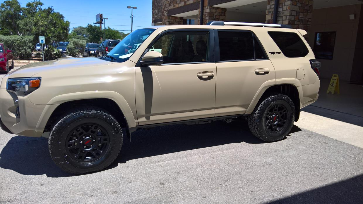 Trd pro quicksand picture thread toyota 4runner forum largest 4runner forum